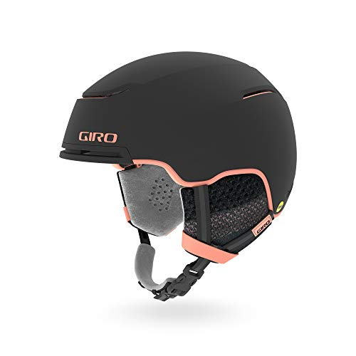 Giro Terra MIPS skihelm, dames, mat, zwart/perzik, 55,5-59 cm