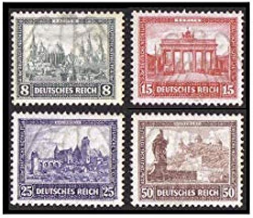 Goldhahn Deutsches Reich Nr. 446-449  IPOSTA Loser Satz Briefmarken für Sammler