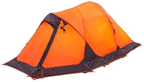 Busirsiz Acampar de 2 personas abrigo de la tienda al aire libre a prueba de agua Sun tiendas de campaña cabaña for Montañismo Montañismo Viajes Rainfly Fácil de instalar, adecuado para al aire libre,