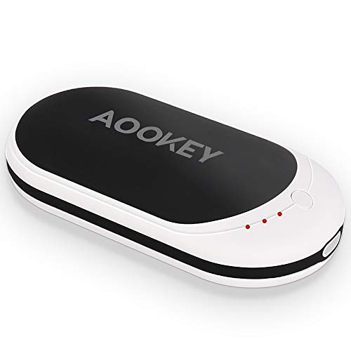 AOOKEY Chauffe-Mains Rechargeable USB 5200mAh...