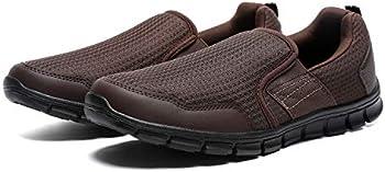 JIUMUJIPU Men's Slip-On Walking Shoes