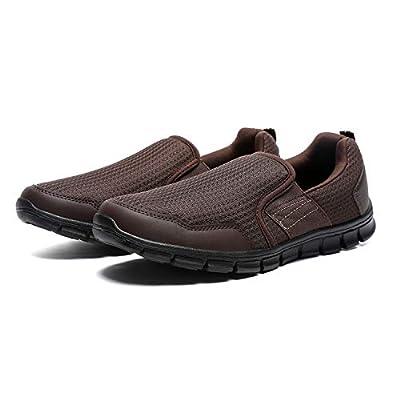 Amazon - Save 70%: JIUMUJIPU Men's Loafers Slip-On Sneaker – Black,Brown,Navy Blue,Li…