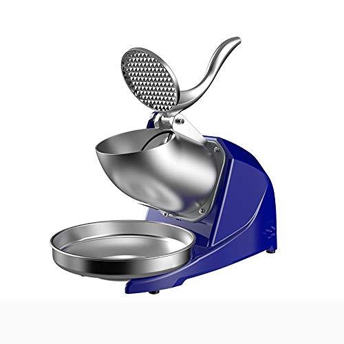 Elektrische ijsblokjesmachine, voor thuis en commercieel gebruik, 95 kg/uur blauw