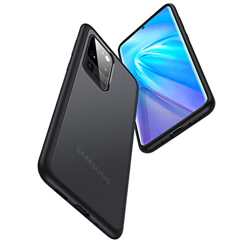 TORRAS Shockproof Galaxy S20 Ultra Case/ S20 Ultra 5G Case, [Military Grade Drop Tested] Translucent Matte Hard Back with Soft Edges Protective Slim Case Designed for Samsung Galaxy S20 Ultra Case
