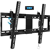 BLUE STONE Tilt TV Wall Mount Bracket for Most 32-83 Inches TVs, TV Wall Mount with VESA up to 600x400mm, Weight up to 165lbs, Fit 16', 18', 24' Studs, LED, LCD, OLED, 4K Flat Screen Curved TV Mount