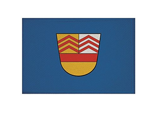 U24 Aufnäher Bad Vilbel Fahne Flagge Aufbügler Patch 9 x 6 cm