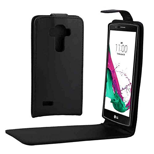 HUANGCAIXIA Accesorio telefónico Funda de Cuero con Hebilla magnética de Tapa Verticalpara LG G4 / H815 Cajas de Cuero para teléfono.