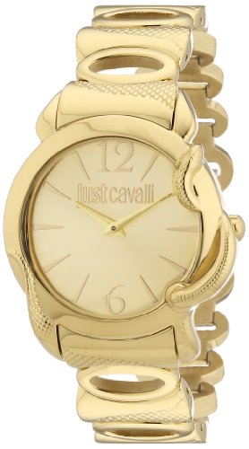 Just Cavalli Damen-Armbanduhr Eden Analog Quarz Edelstahl R7253576501