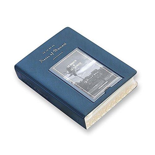 iconic アイコニック チェキアルバム My Polaroid Ver.3 Pieces of Moment (STEEL BLUE)