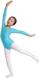 Aoylisey Girls' Team Basic Long Sleeve Leotard