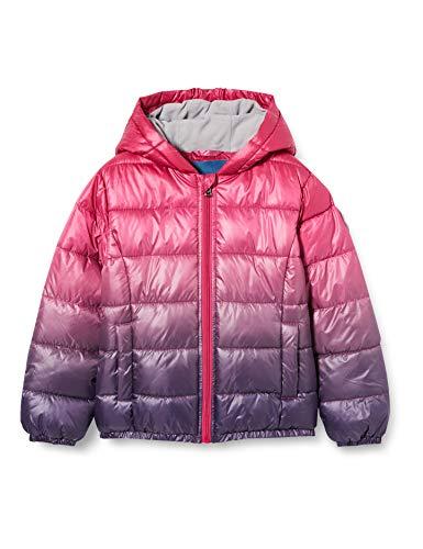 Sanetta Mädchen Outdoor Jacke Rusty red Mit Dieser modernen und warmen Winterjacke in einem Farbverlauf von Pink zu Lila Kidswear kann die kalte Jahreszeit kommen, rosa, 140