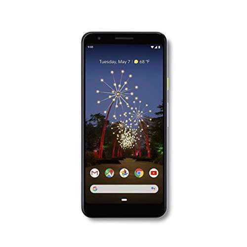 Google - Pixel 3a with 64GB Memory Cell Phone (Unlocked) - Purple-ish (Renewed)