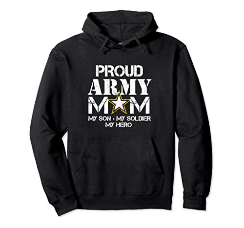 Proud Army Mom Hoodie for Military …