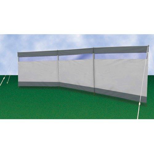 Siehe Beschreibung Windschutz 3-Fach mit Fenster grau