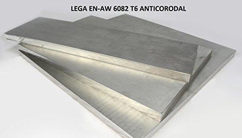 Barra piatta in alluminio SPESSORE 10 mm, con VARIE LARGHEZZE E LUNGHEZZE, lega 6082 ANTICORODAL(VISITATE IL NOSTRO NEGOZIO SONO PRESENTI ALTRI FORMATI) (50x10x1000mm)