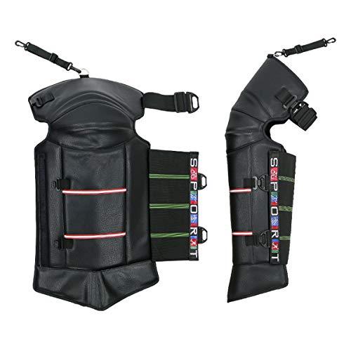 AimdonR Kniebescherming, kniesteun voor motorfiets Professional Adult Knieën warm voor winter motorfiets bike skate