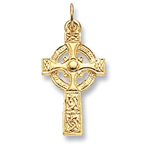 9ct Gold Maltese Cross Pendant On A 24 Inch Belcher Necklace