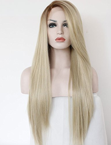 K'ryssma Fashion Ombre Blonde Glueless Lace Front Wig