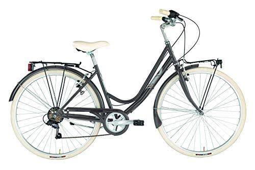 Alpina Bike Sharin 28', Bicicletta Donna, Crema, 6v