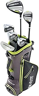 New 2019 Top-Flite Junior Boys Complete Golf Set for Ages 9-12 Years Old - Height 53'' & Up