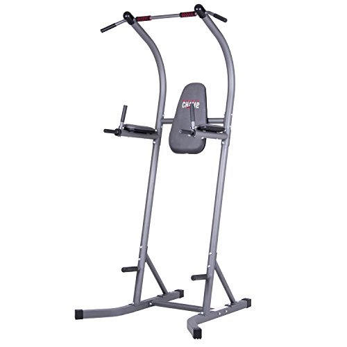 Body Champ Fitness Power Tower, Gym Equipment for Home, Indoor Workout Equipment, Multi-Use Pull-Up Bar Station PT620