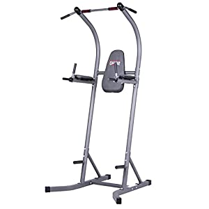 Body Champ Fitness Multifunction Power Tower/Multi station for Home Office Gym Dip Stands Pull Up VKR/Space Saving PT620
