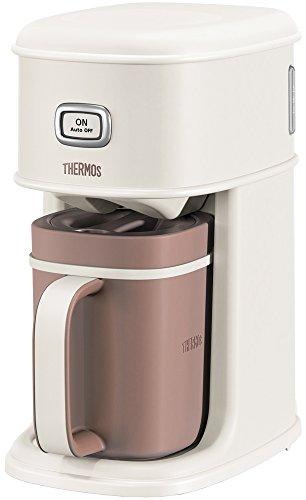 サーモス アイスコーヒーメーカー 0.66L バニラホワイト ECI-660 VWH