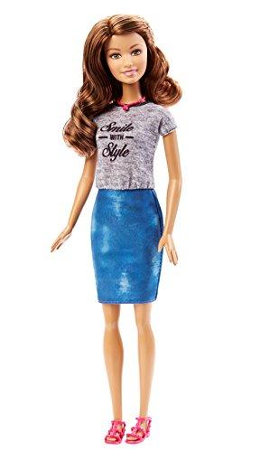 Barbie - DGY58 - Fashionistas - Jupe en Jean Et Haut