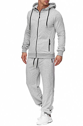 Tazzio heren sportpak joggingpak trainingspak joggingbroek sportbroek 17203