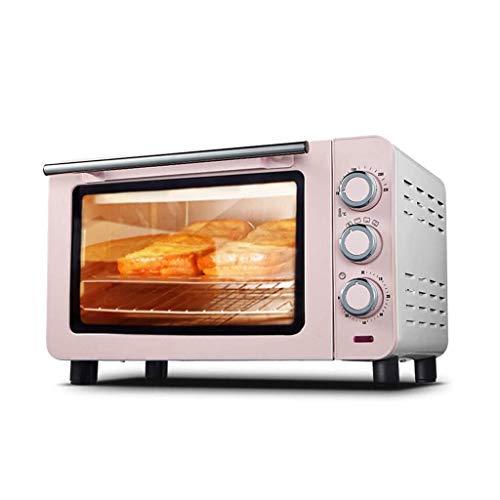 horno 15L horno tostador, multifunción acabado de acero inoxidable con temporizador - tostada - Hornear - Ajustes Broil, convección natural - 1200 vatios de potencia Electrodomésticos de cocina