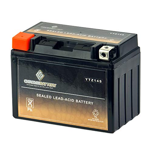 This is an AJC Brand Replacement Power Max GTZ14S Powersports Replacement Battery