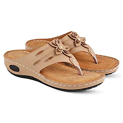 Dr. Feel women's & Girl's Slippers Women Casual Sandal 1096