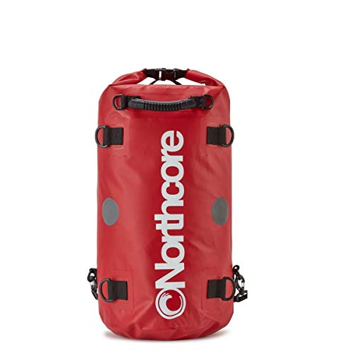 Northcore Dry Bag Rucksack, 30 l, Rot