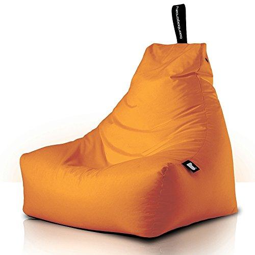 BeanBagCrazy - Sillón tipo puf, color naranja