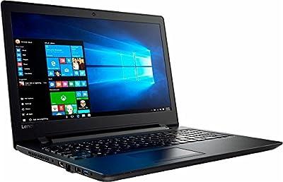 Lenovo 15.6-Inch High Performance Laptop PC, Intel Dual-Core N3060 Processor, 4GB DDR3 RAM, 500GB Hard Drive, DVD RW, HDMI, Wi-Fi, Bluetooth, Webcam, HDMI, USB 3.0, Windows 10