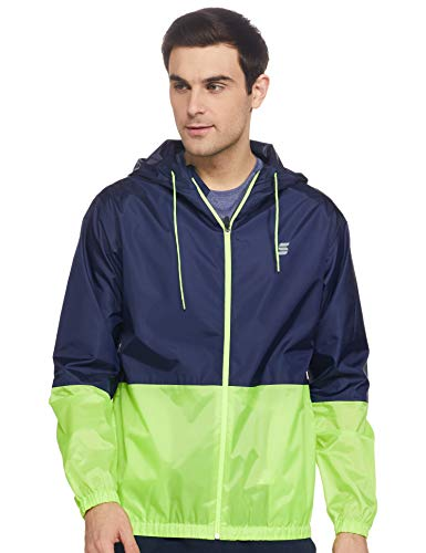 Amazon Brand – Symactive Men's Rain Jacket