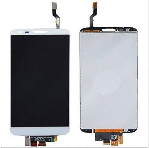 LG Optimus G2 D800 D801 D803 LCD Pantalla Táctil Digitalizador Vidrio Completa Reemplazo y Herramientas (Blanco)