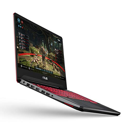"ASUS TUF Gaming Laptop, 15.6"" IPS Level Full HD, AMD Ryzen 5 3550H Processor, AMD Radeon Rx 560X, 8GB DDR4, 256GB PCIe NVMe SSD, Gigabit WiFi, Windows 10 - FX505DY-ES51(US Tastatur und Stecker)"