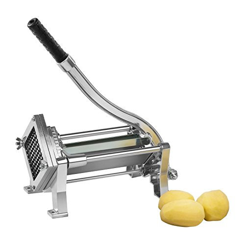 Royal Catering RCKS-3 Pommesschneider Kartoffelschneider Gemüseschneider (Inkl. 3 Messereinsätze...