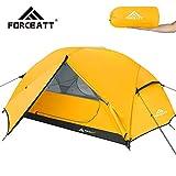 Forceatt Tende Campeggio 3 Posti, Tenda da Campeggio Ultraleggera a 3-4 Stagioni Impermeabile Antivento, Installabile Immediatamente, Adatta per Escursioni, Campeggio, Esterno