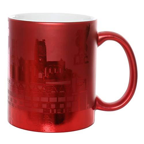FC Liverpool LFC Tasse, Becher Kaffeebecher Metallic Skyline