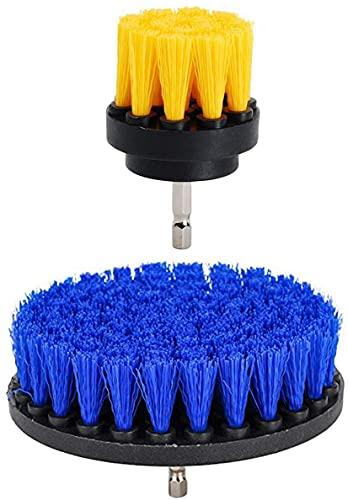 okuya Passt perfekt Kit de fijación de taladro de cepillo de frotamiento: accesorios de cepillo de limpieza con perforación - kit de limpieza de ahorro de tiempo - para limpieza piscina pisos de baldo