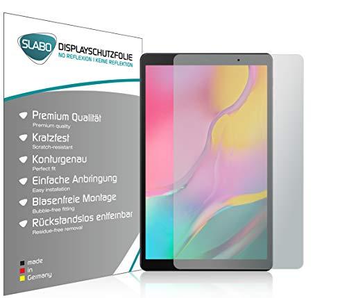 Slabo 2 x Displayschutzfolie für Samsung Galaxy Tab A T510 | T515 10,1 Zoll (2019) Displayschutz Schutzfolie Folie No Reflexion | Keine Reflektion MATT