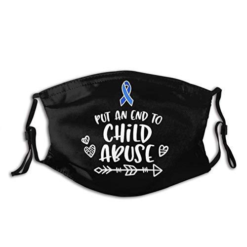 Máscara facial de prevención del abuso infantil,...