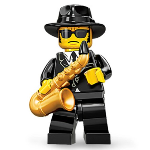 Lego Saxophone Player