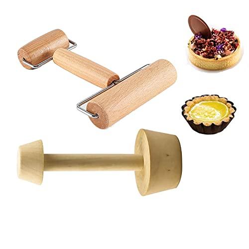 Kulamala 2pcs, Rolling Pin + Pastry