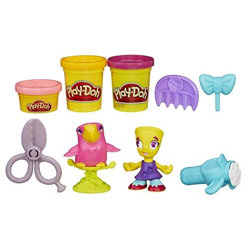 Play-Doh Town Friseur und Vogel