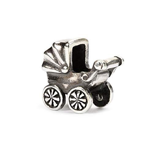 Trollbeads Silber Bead Baby Buggy
