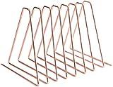 FülleMore - Revistero de metal, elástico, triangular, 25 cm hasta 65 cm, flexible