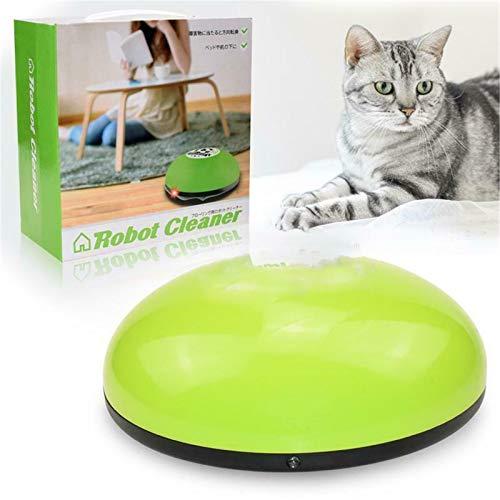 Robot De Juguete Eléctrico Interactivo Para Perros, Gatos, Gatitos, Suministros Para Mascotas, Cosquillas Para Gatos, Robot Aspirador Para Alfombras Y Suelos, Robot Inteligente (verde)